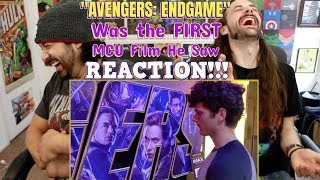 """AVENGERS: ENDGAME"" was the first MCU film he saw - REACTION!!!"