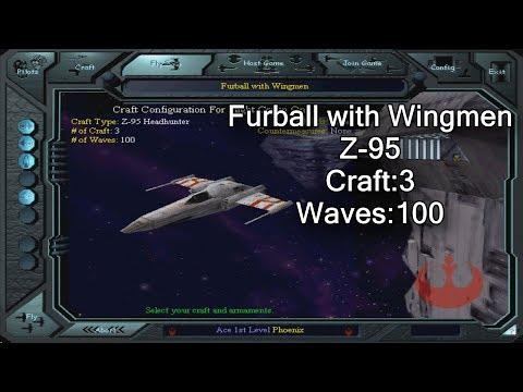 X-wing vs. TIE Fighter - Furball with Wingmen - Z-95 |
