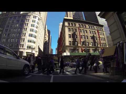 New York Biking 3 - Time Sq & 5th Ave