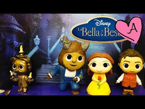 Juguetes sorpresa de La Bella y la Bestia Live Action con figuras de vinil de Funko Minis