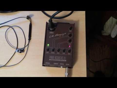 Recording Studio - LR Baggs Para Acoustic DI