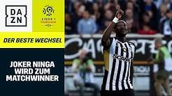 3 Tore in 21 Minuten! Joker Casimir Ninga wird zum Matchwinner | Der beste Wechsel | DAZN