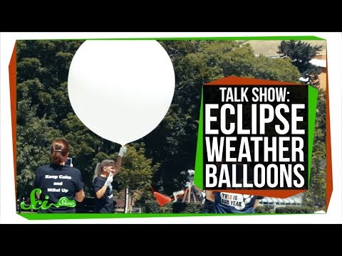 Studying the Solar Eclipse: SciShow Talk Show