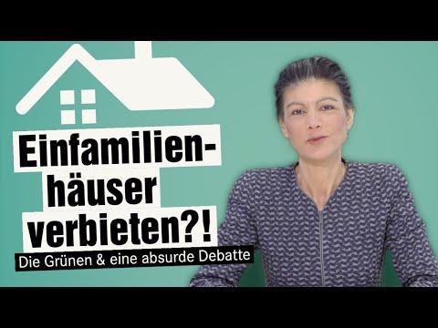 Einfamilienhäuser verbieten? Die Grünen & eine absurde Debatte.