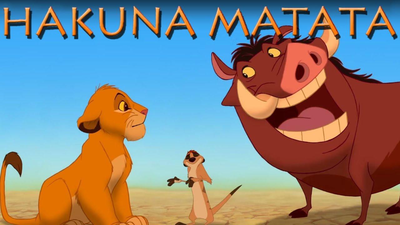 könig der löwen hakuna matata