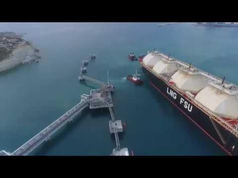 FSU Armada LNG Mediterrana arrives in Malta 2