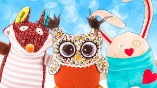 Видео для детей. Огромные МЯГКИЕ ИГРУШКИ. Океанариум, игрушечная рыбалка и шоу морских котиков