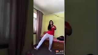 Very funny video clip like app ... Hindi funny video clip. Girl say taking ..