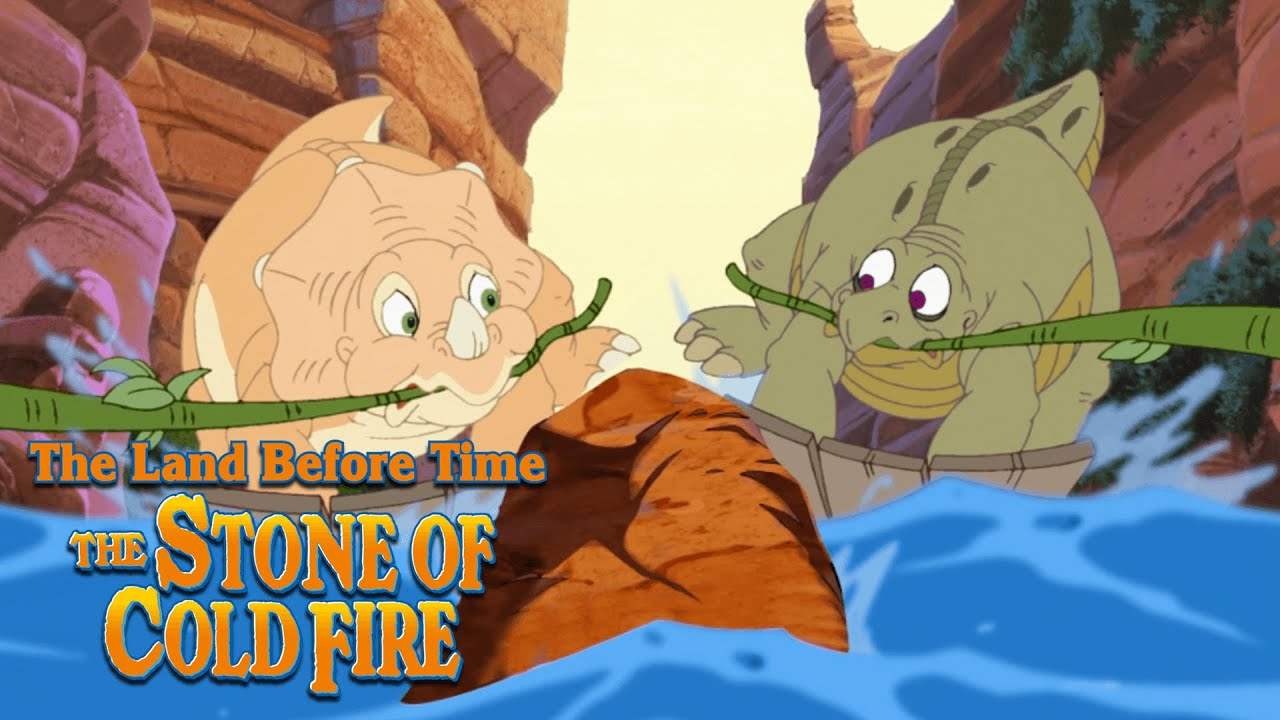Dangerous Canyon Crossing | The Land Before Time VII: The Stone of Cold Fire