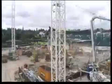 Time Lapse of Wimbledon Centre Court Construction