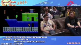 Summer Games Done Quick 2014 - Part 22 - Alex Kidd In Shinobi World