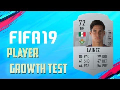 FIFA 19 | Diego Lainez (3/1 Upgrade) | Growth Test