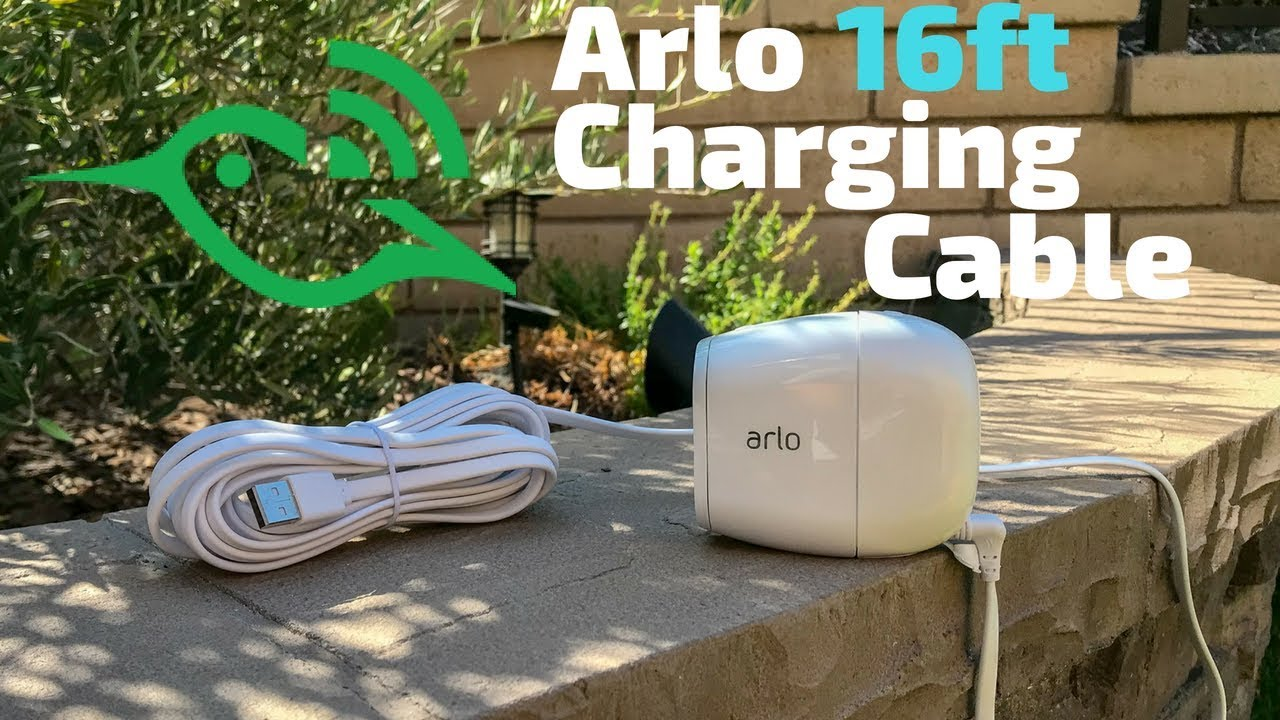 Arlo Pro 2 WEATHERPROOF Continuous Charging Cable - 16ft Power Cable