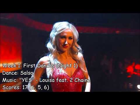 Nikki Glaser - All Dancing With The Stars Performances