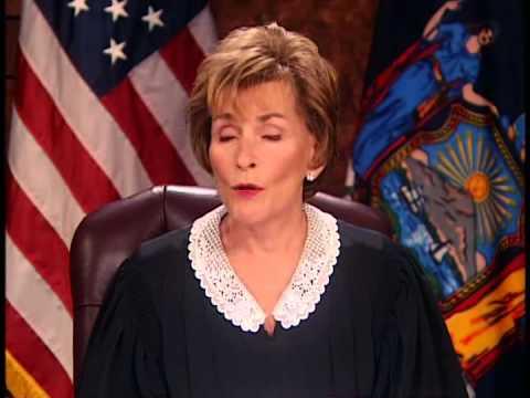 Judge Judy-isms!