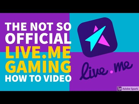 TUTORIAL: STREAMING GAMES ON LIVE.ME?!?!