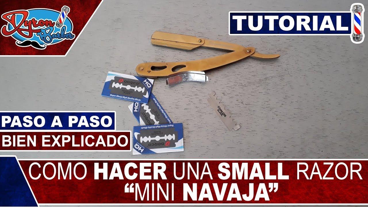 Hacer De ATutorial NavajaPaso Barberia Como Una Small Razormini wONvm8n0