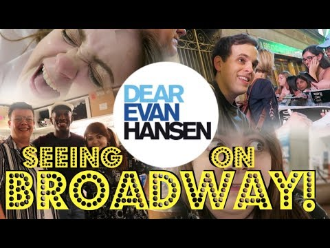 BACKSTAGE AT BE MORE CHILL AND DEAR EVAN HANSEN!