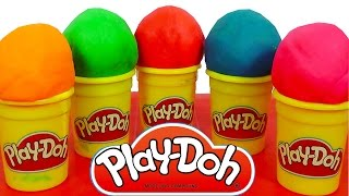 Play Doh Eggs Ice Cream Peppa Pig Masha i Medved Hello Kitty