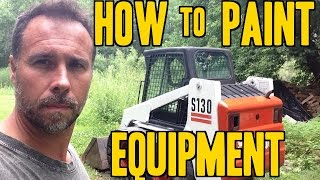 How to Paint Construction Equipment