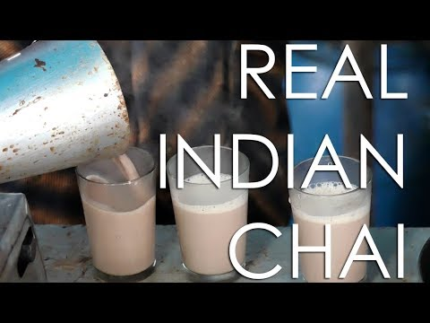 Indian Chai From The Streets Of Kerala