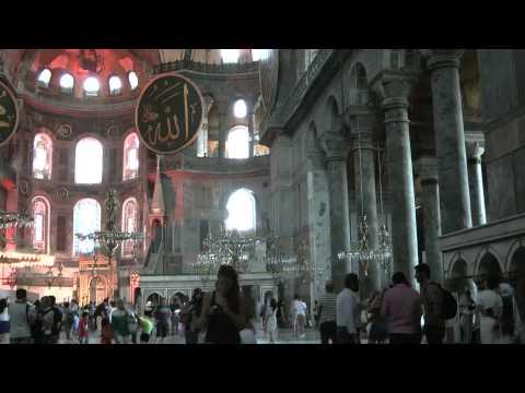 Istanbul (1): Topkapı Palace, Aya Sofia, Basilica Cistern