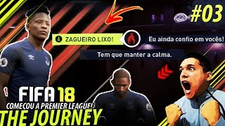 Fifa 18 the journey #03 - igual o neymar?!?! (gameplay xbox one/ps4/pc)