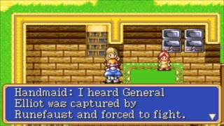 [GBA] Shining Force: Resurrection of the Dark Dragon [Chapter 4] Прохождение / Walkthrough