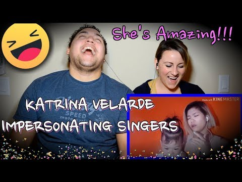 Katrina Velarde- impersonating singers 3-Burn-|COUPLES REACTION|