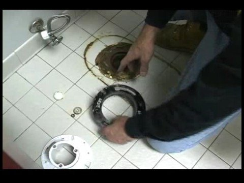 How To Repair A Toilet Replace Flange Under A Toilet