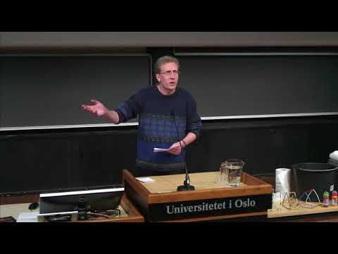 The 2015 Abel Lectures - John Nash - An Interesting Equation