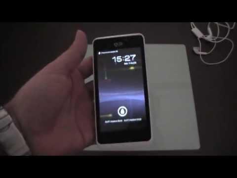 Geeksphone Peak running Android