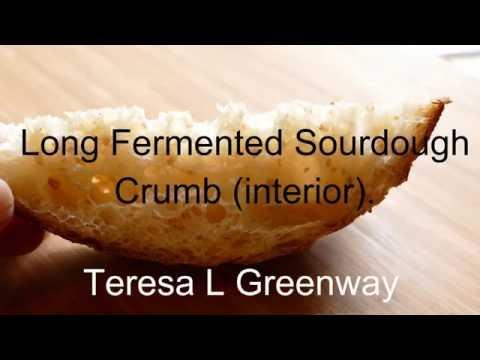 Long Fermented Sourdough Bread - SEE INSIDE! Bread Unboxing! - 동영상