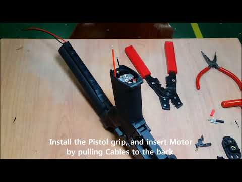 How to assemble the lower receiver of DAS GDR15