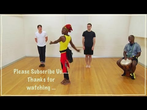 "5 Minute | Nice Lesson | ""African Dance"" Lesson Video 