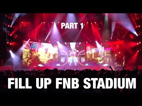 Cassper Nyovest - Fill Up FNB Stadium | Part 1 (Epic Intro)