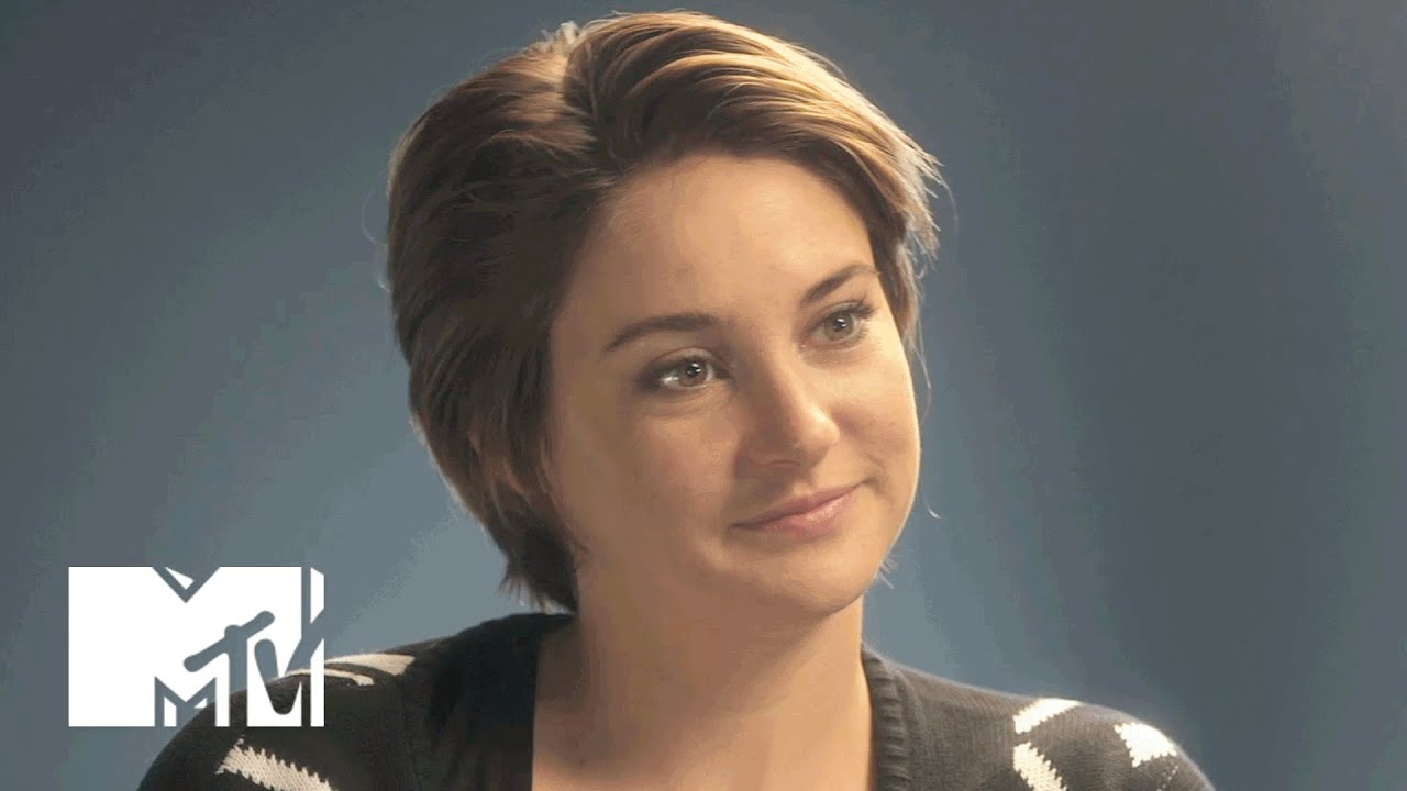 Shailene woodley on fighting her evil twin in insurgent mtv news shailene woodley on fighting her evil twin in insurgent mtv news youtube thecheapjerseys Choice Image
