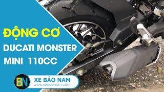 Lô Ducati Monster Mini 110cc 2 New đời mới ► Đầu tiên có bán tại Việt Nam