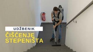 HBS No2 Čišćenje stepeništa