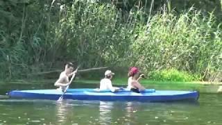 Рыбалка фидером на реке, плотва и один карась.