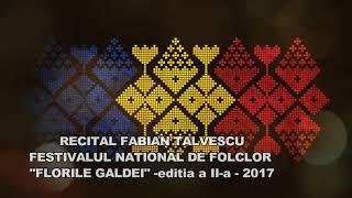 Fabian Talvescu- Recital