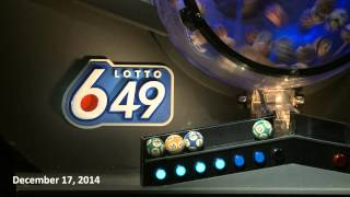 Lotto 6/49 Draw December 17, 2014