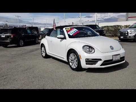 2017 Volkswagen Beetle Convertible 1.8t S Salinas Monterey Watsonville Marina Seaside Carmel S