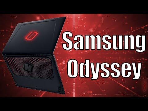 Samsung Odyssey - Empresa estreia com um belo notebook gamer