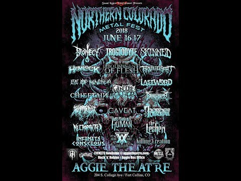 "6-16-18 PROPHECY ""Buried In Brimstone"" CLIP at Northern Colorado Metal Fest!"