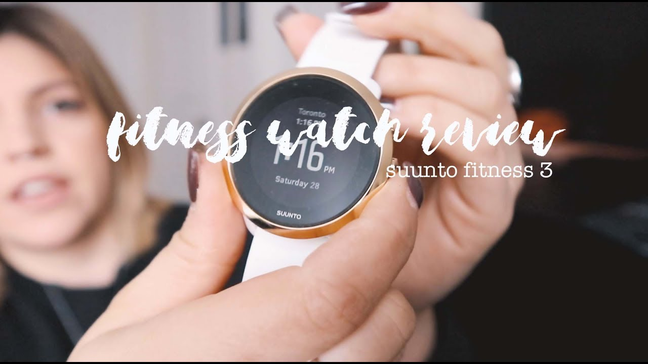 NEW FITNESS WATCH | Suunto Fitness 3 tour & review |