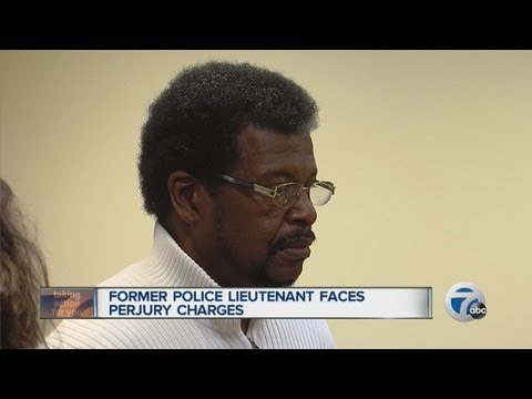 Former police lieutenant faces perjury charges