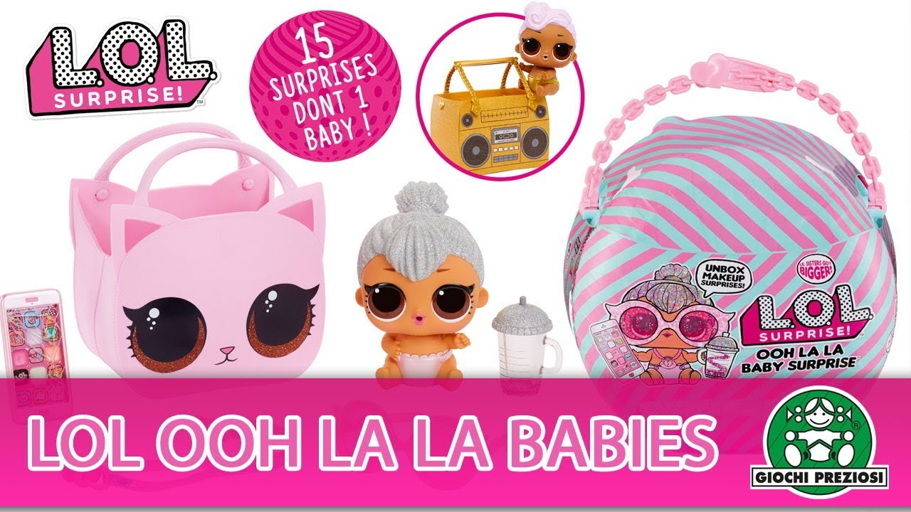 L.O.L Surprise / Ooh La La Babies / Pub TV / Giochi France