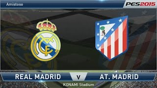 PES 2015 - Real Madrid x Atlético de Madrid [PS4 - PT/BR]