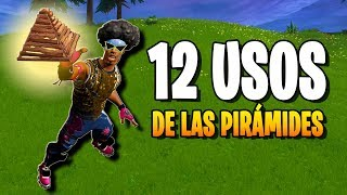 12 Usos de las PIRAMIDES en Fortnite